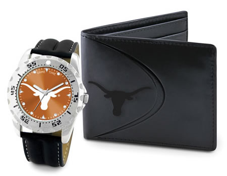 Game Time Colletgiate Watch Wallet Gift Sets