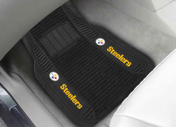 Fanmats NFL Logo Deluxe Car Mats from River City Watches & Gifts