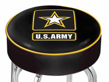 HBS Military L7C1 Logo Bar Stool