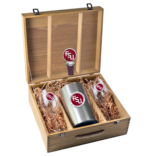 Florida State University Boxed Wine Set