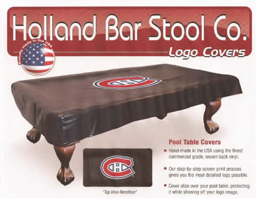 198 & Holland NHL Pool Table Covers